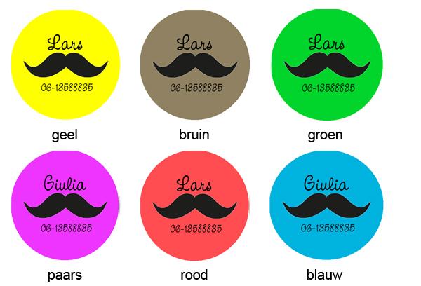 Buttons met naam model