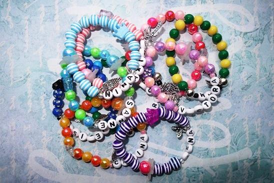 Kinderfeestje armbanden pakket kralen armband do it yourself
