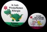 Button medisch kinderen diverse designs eigen tekst 5cm of 7,5 cm per stuk