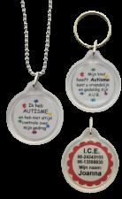 Medische ketting autisme 2-zijde