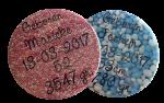 """Buttons met naam model """"geboorte"""", per stuk"""