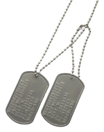 Dogtags diverse tags