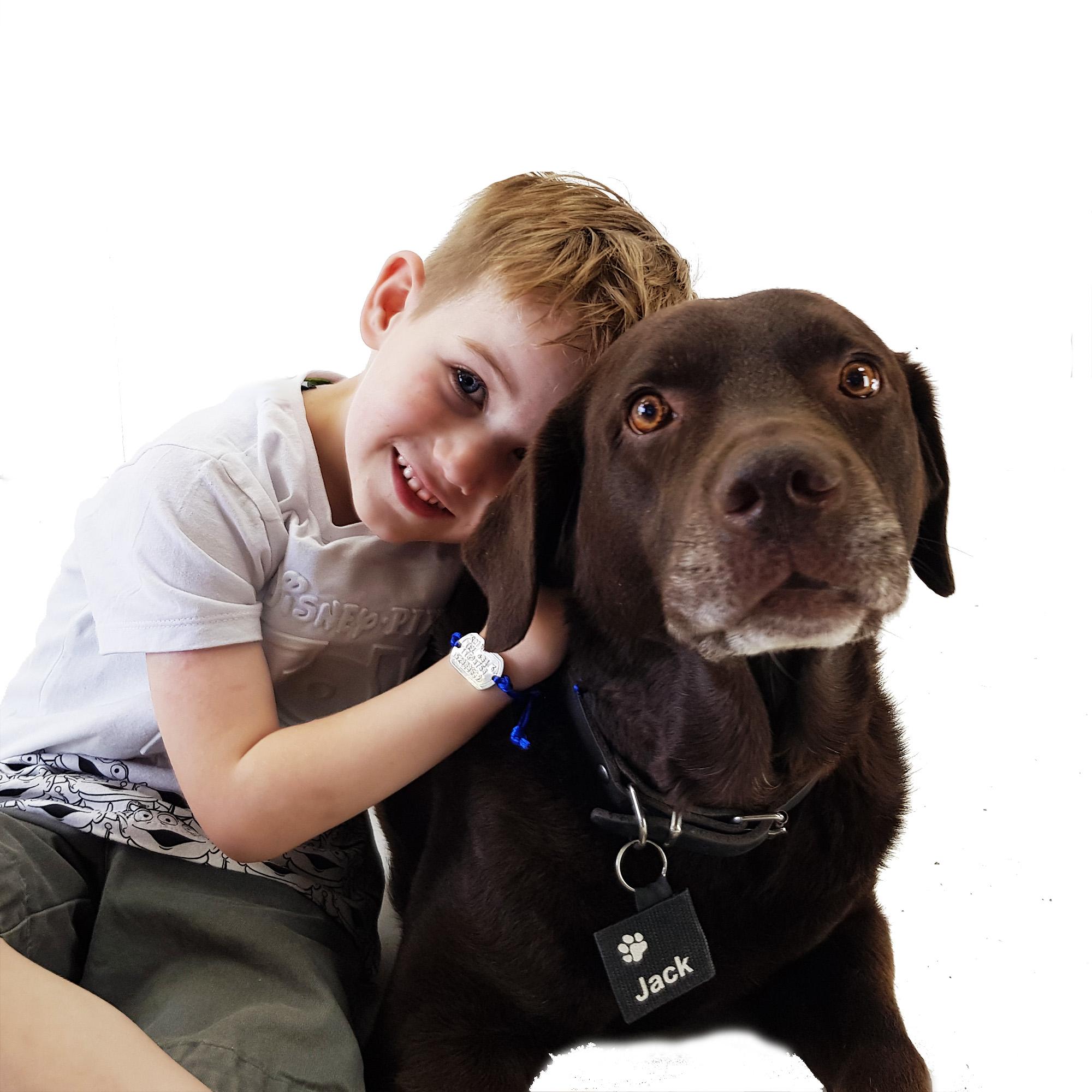 Dogtag silencer for dogs bedrukt met naam