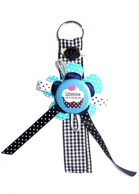 """Sleutelhanger met naam model """"cupcake"""""""