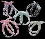 Weethoeikheet sos armbandjes set parels