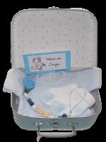 Geboortekoffertje met kraamcadeau's nr. 2