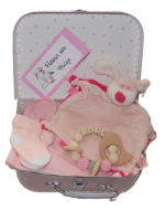 Geboortekoffertje met kraamcadeau's nr. 3