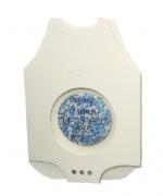 Geboortekaart in envelop met button