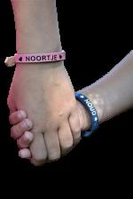 Sos armbanden leer Cuoio voor kinderen