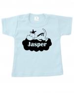 Baby t-shirt bedrukt met draakje
