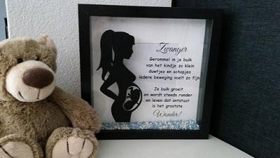 Zwanger fotolijst