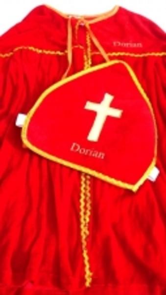 Sinterklaaspak met naam bedrukt