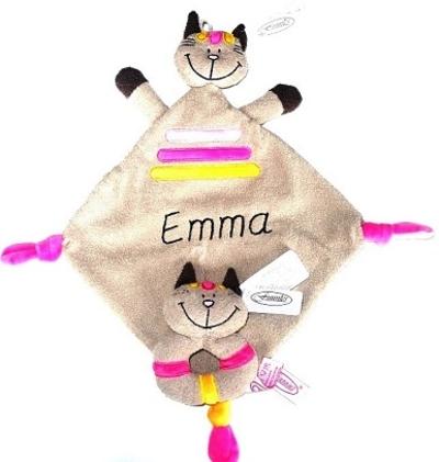 Tutpop met naam hond kat merk Funnies set