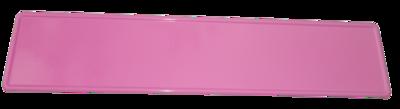 Kentekenplaat met geboortegegevens 52cm