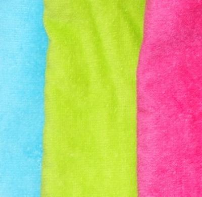 Handdoek geborduurd met naam en 2e regel