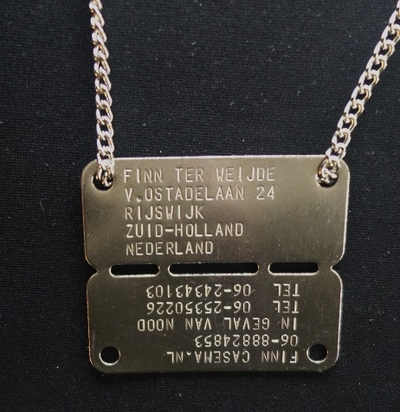 Dutch Army Tag special