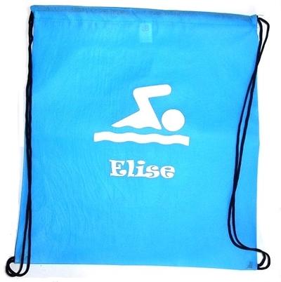 Zwemtas met je naam ook andere sporten zijn mogelijk!