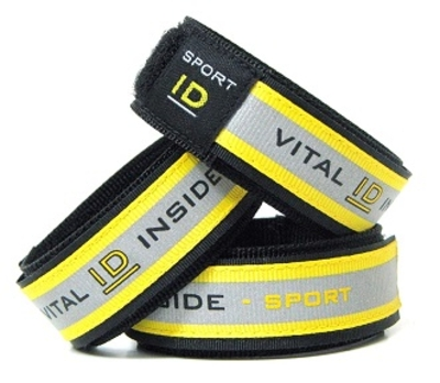 Sos sport ID polsband polsmaat 13 t/m 19 á 20