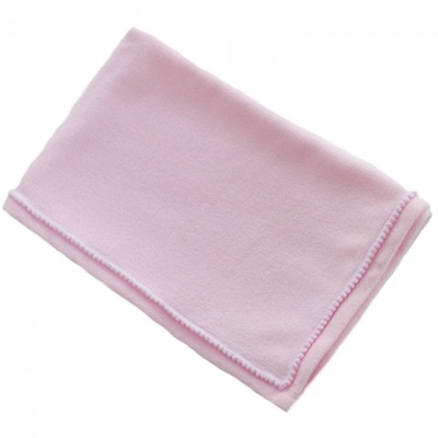 Babydeken fleece soft touch bedrukt met naam 3 kleuren