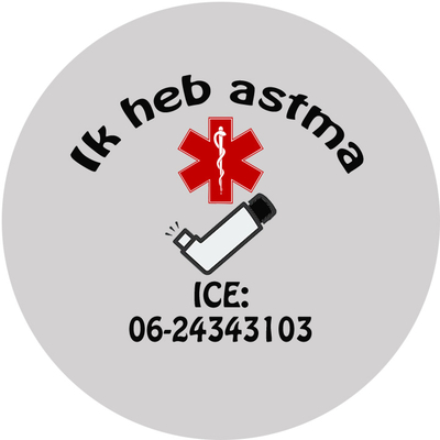 Astma/COPD button