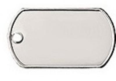 Identiteitsplaatje aluminium