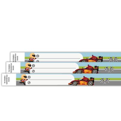 Kinderbandjes eenmalig gebruik diverse designs per 10 stuks
