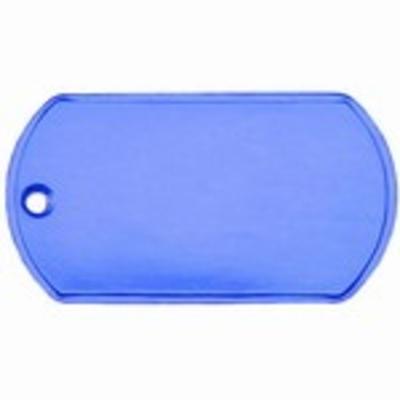 Identiteitsplaatje gratis silencer vanaf € 6,95 RVS standaard 25 kleuren