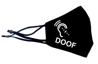 Mondkapje doof of slechthorend