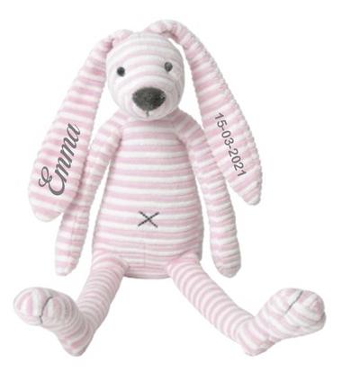 Happy Horse Pink Rabbit Reece streep met naam