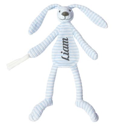 Happy Horse Bleu Rabbit Reece knuffeldoekje met naam