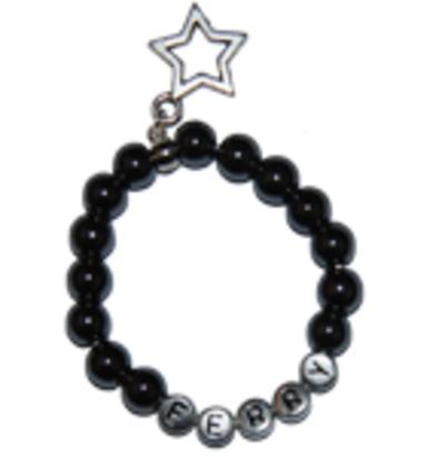 """Kindersieraden: jongens armband met naam model """"energie"""""""