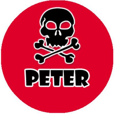 """Ketting met naam model: """"piraten"""""""