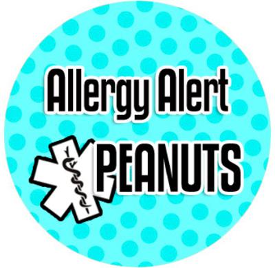 "SOS ketting model: ""allergie alarm"""