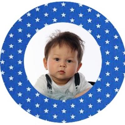 button foto met of zonder rand 1 stuk