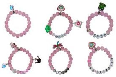 """Kindersieraden: armbandje met naam model """"liefde"""""""