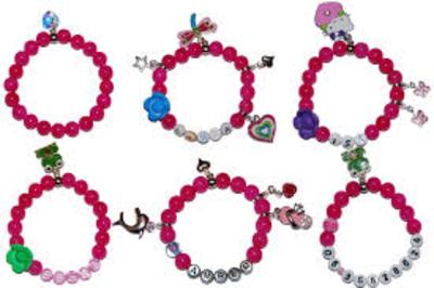 """Kindersieraden: armbandje met naam model """"prinses"""""""