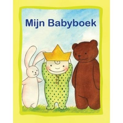 Kinderboek met naam Mijn babyboek