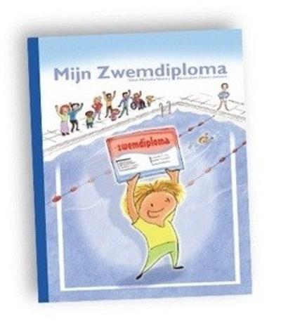 Kinderboek met naam mijn zwemdiploma