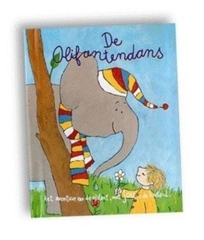 Kinderboek met naam De olifantendans