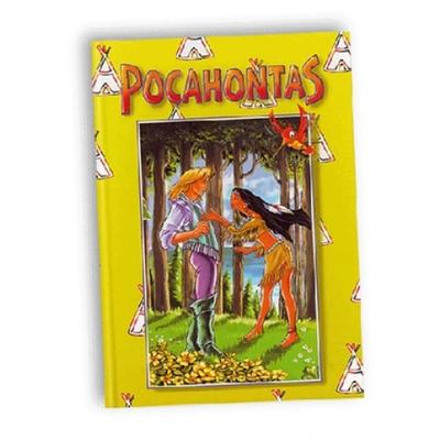 Kinderboek met naam Pocahontas