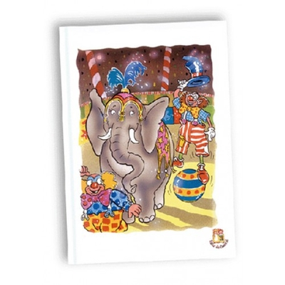 Kinderboek met naam Mijn verjaardag in het circus